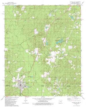 Junction City topo map
