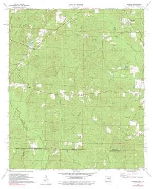Wesson topo map