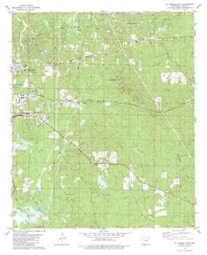 El Dorado East topo map