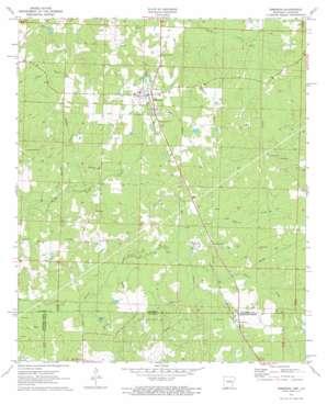 Emerson topo map