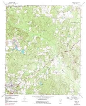 Linden topo map