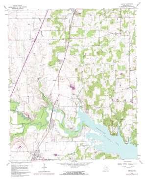 Argyle topo map