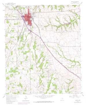 Decatur USGS topographic map 33097b5