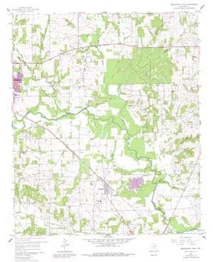 Bridgeport East topo map