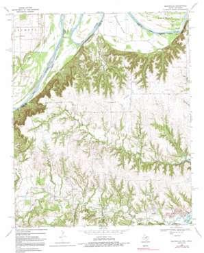 Marysville topo map