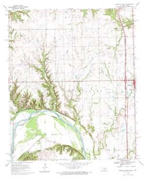 Marietta West topo map