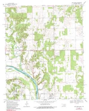 Leon North USGS topographic map 33097h4