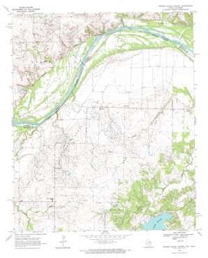 Prairie Valley School topo map