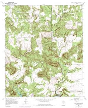 Ross Mountain topo map