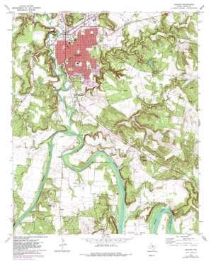 Graham topo map