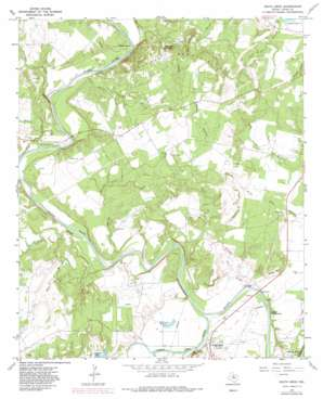 South Bend topo map