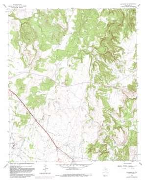 Jacksboro Ne topo map