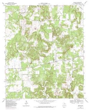 Senate topo map
