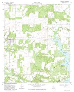 Newcastle topo map
