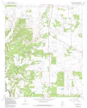 Sibley Creek topo map