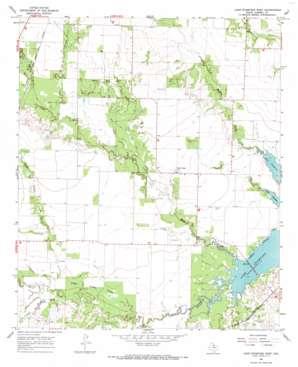 Lake Stamford West topo map