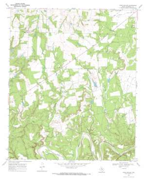 Coon Hollow USGS topographic map 33100a3