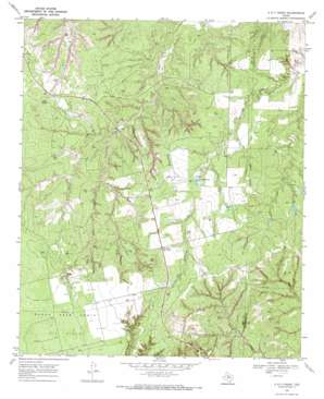 A B C Creek USGS topographic map 33100a5