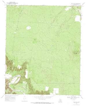 Gant Hills topo map