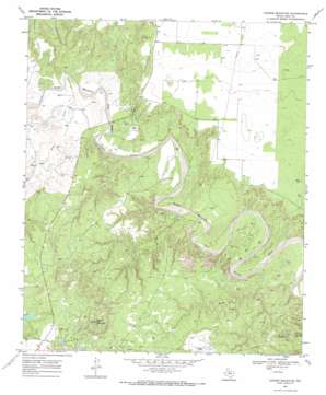 Cooper Mountain topo map