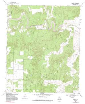 Polar topo map