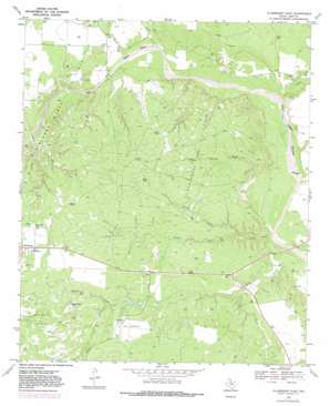 Clairemont East topo map