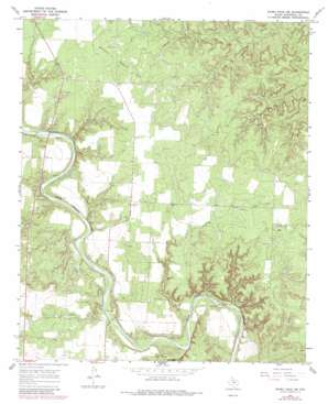 Kiowa Peak Sw topo map