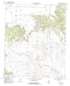 Middle Creek topo map