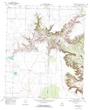 Grassland Se topo map