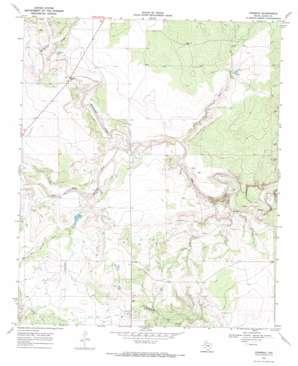 Verbena topo map