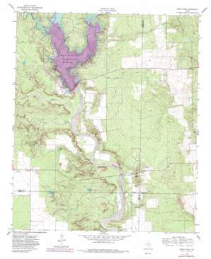 Smith Tank topo map