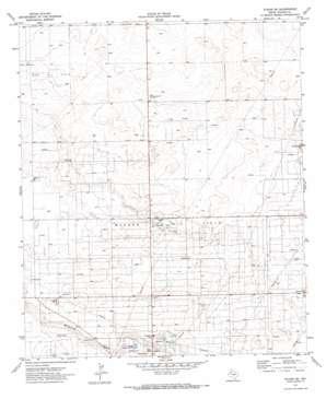 Plains Se topo map