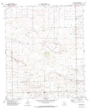 Ink Basin topo map