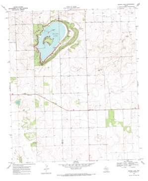Mound Lake topo map