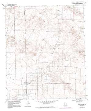 Plains 1 Se topo map