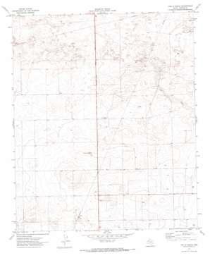 Two B Ranch topo map