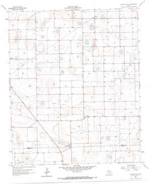 Lockettville topo map