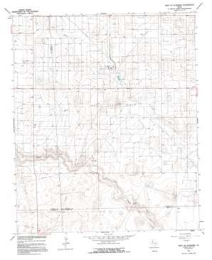 Plains 1 Ne topo map