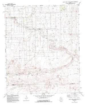 Plains 1 Nw topo map