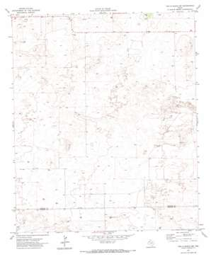 Two B Ranch Nw topo map