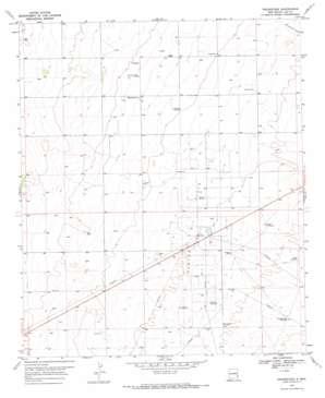 Prairieview topo map