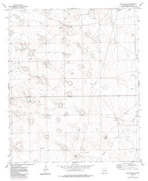 Dean Ranch topo map