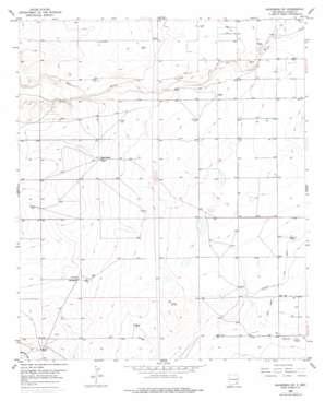 Hagerman Sw topo map