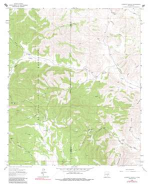 Clements Ranch topo map