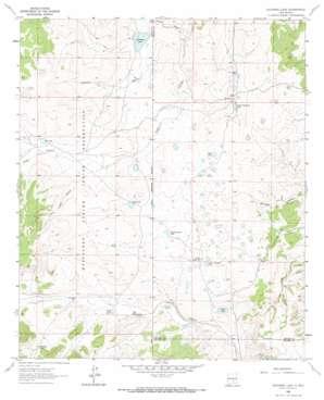 Deadman Lake topo map