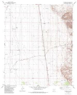 Tularosa Ne topo map