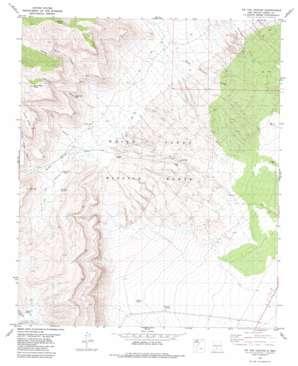 Tip Top Canyon topo map