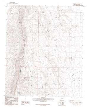 Palomas Gap topo map