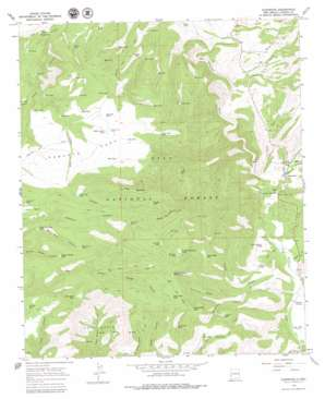 Glenwood topo map