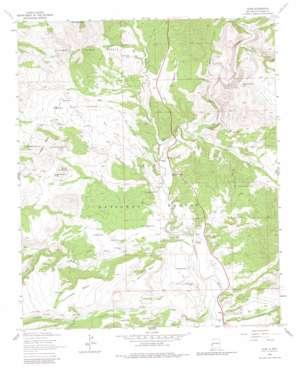 Alma topo map